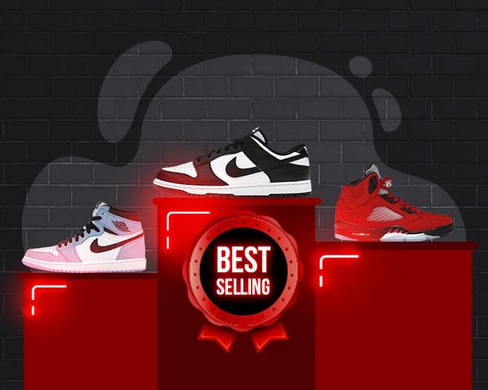 Best selling sneakers 2021