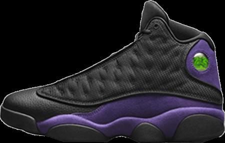 Jordan 12 Court Purple