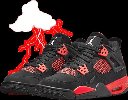 Jordan 4 Red Thunder 2021