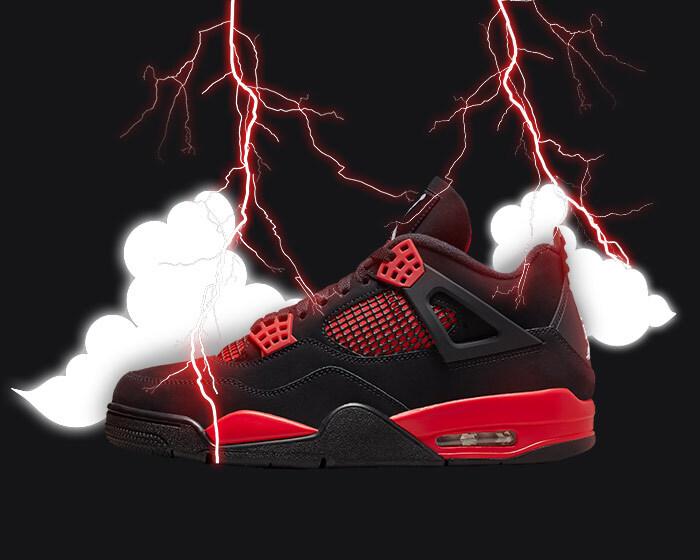 Jordan 4 Red Thunder
