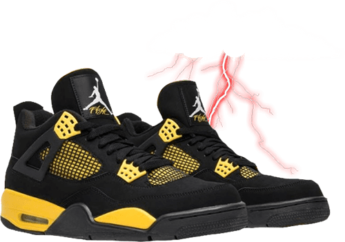 Jordan 4 Thunder 2012