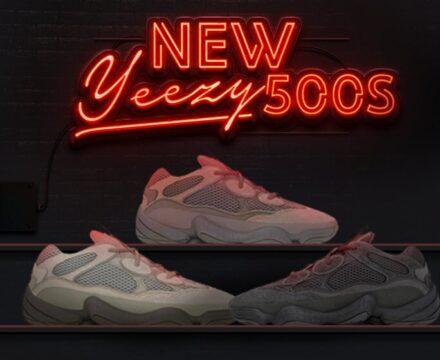 New yeezy 500s 2021