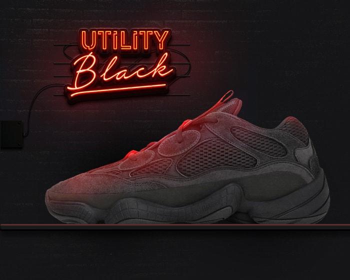 New yeezy 500s - black
