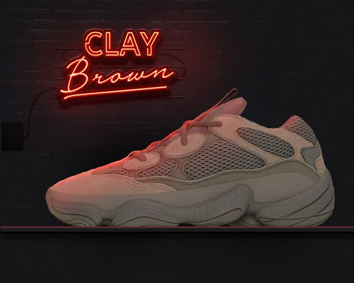 New yeezy 500s - clay brown