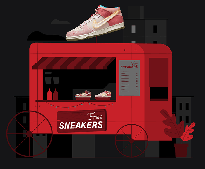 Nike Dunk Mid Social Status 2021