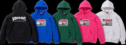 Supreme Thrasher hoodie