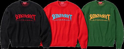 Supreme Thrasher sweater - is supreme dead