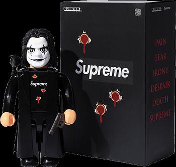 Supreme left to drop the crow figurine