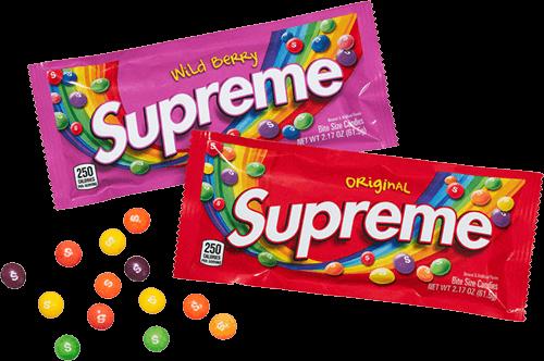 Supreme skittles pack