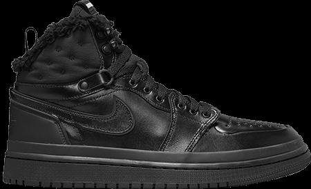 Winter sneakers - Jordan 1 acclimate black