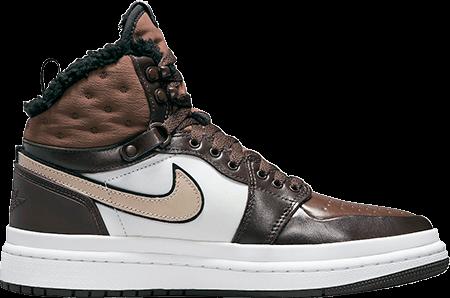 Winter sneakers - Jordan 1 acclimate chocolate
