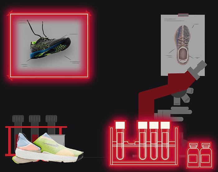 sneaker tech of brands