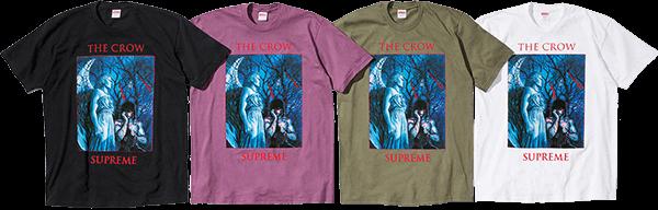 supreme the crow tee