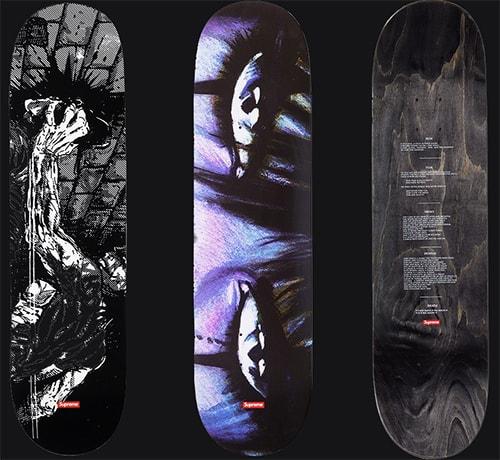 the crow supreme skateboard decks