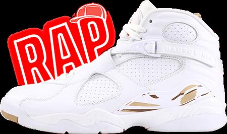 Drake Jordan 8 OVO White