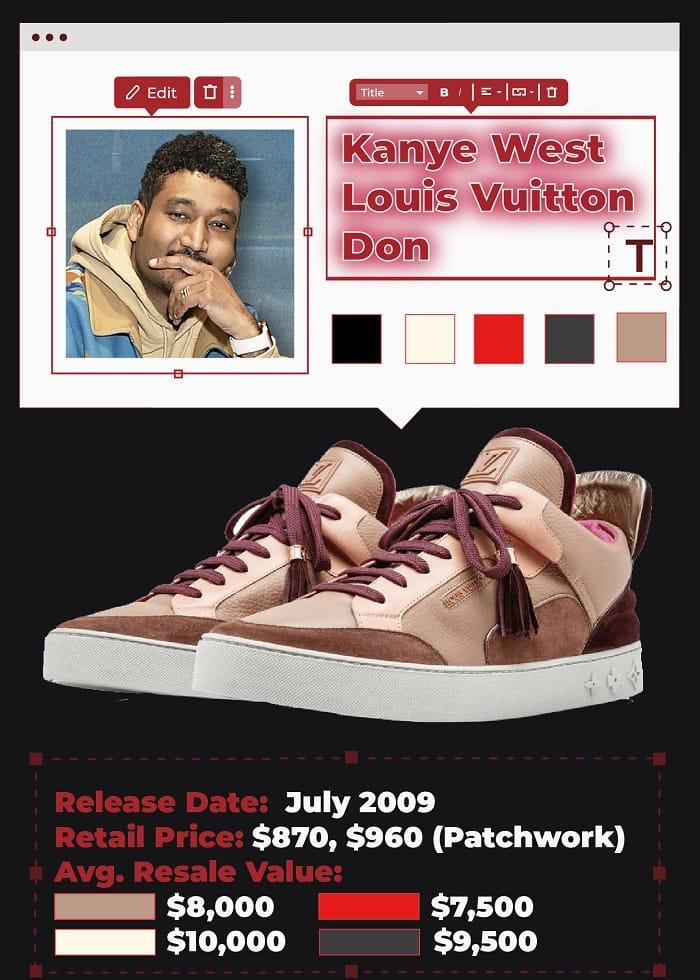 Kanye west Louis vuitton don