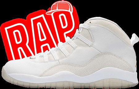 OVO Jordan 10 White