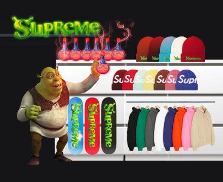 Supreme Shrek week 8 fw21