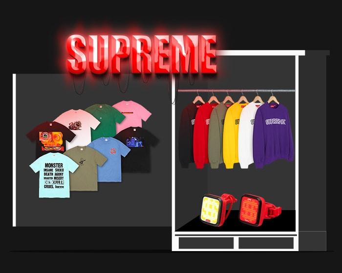 Supreme tees fall 21
